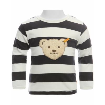 Steiff Langarmshirt mit Bär zum Knöpfen