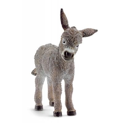 Schleich Spielfigur Esel Fohlen, Minifigur